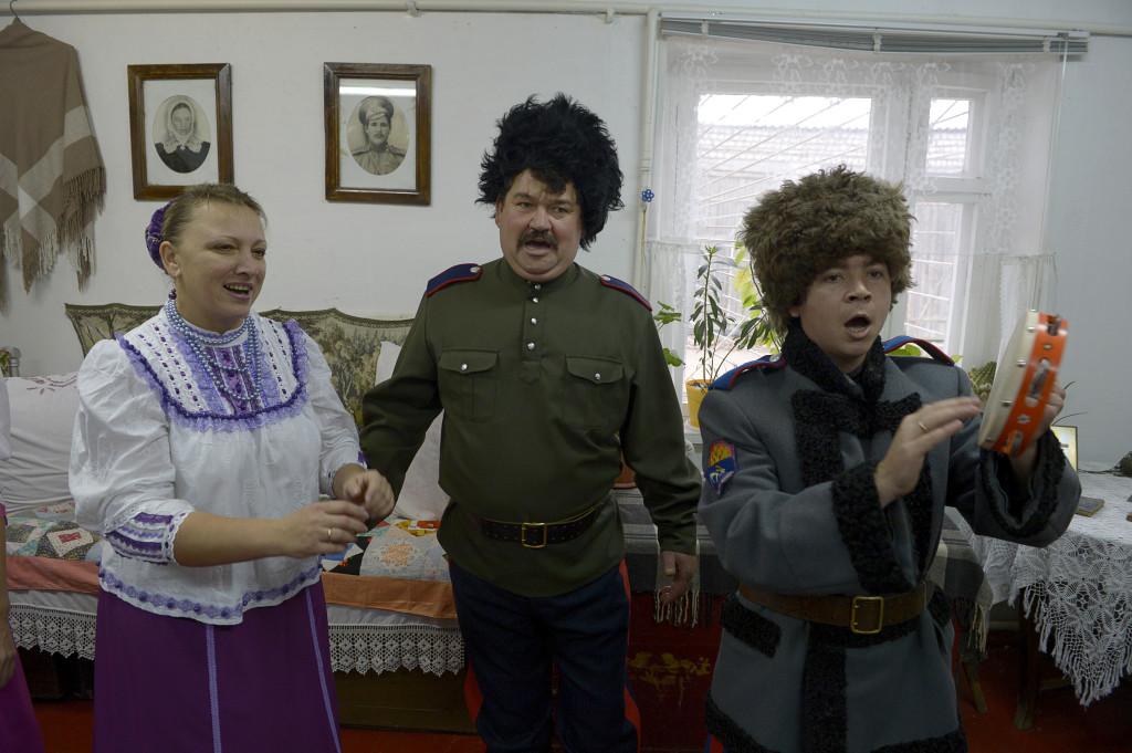 I Michajlovkas kommunala kulturcenter har kosackerna sitt lilla historiska museum