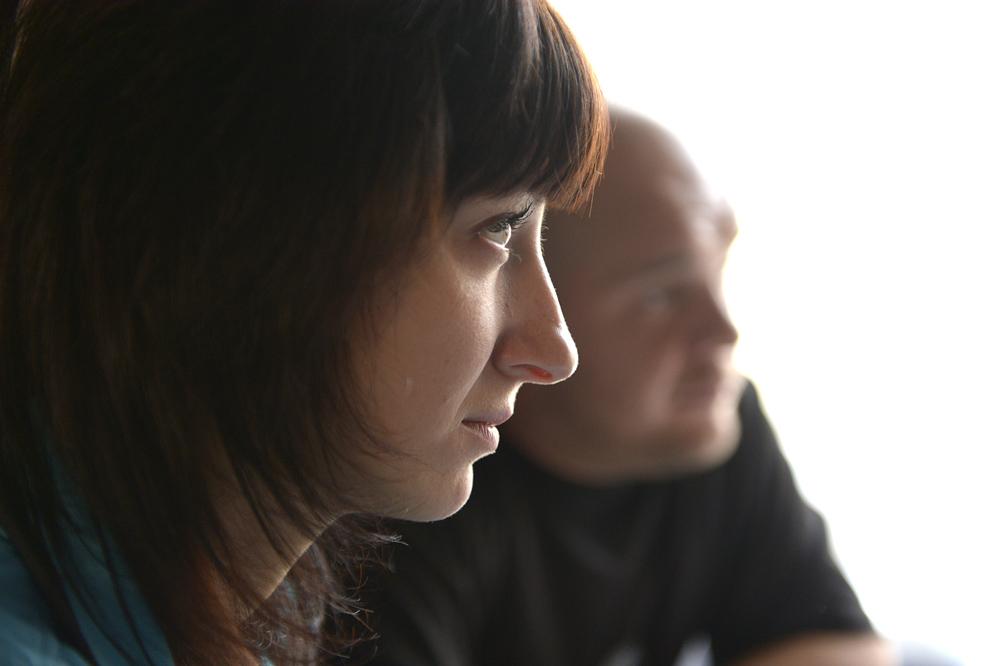 -i senaste valet röstade vi på Putin, berättar Karina