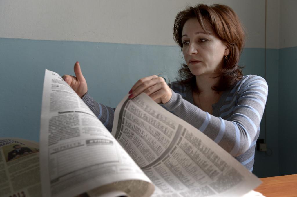 – att vara journalist är att vara där det händer, säger Olga